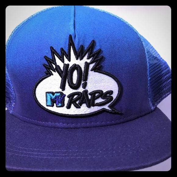Vintage old school yo! MTV raps SnapBack hat e3e1abb34c71